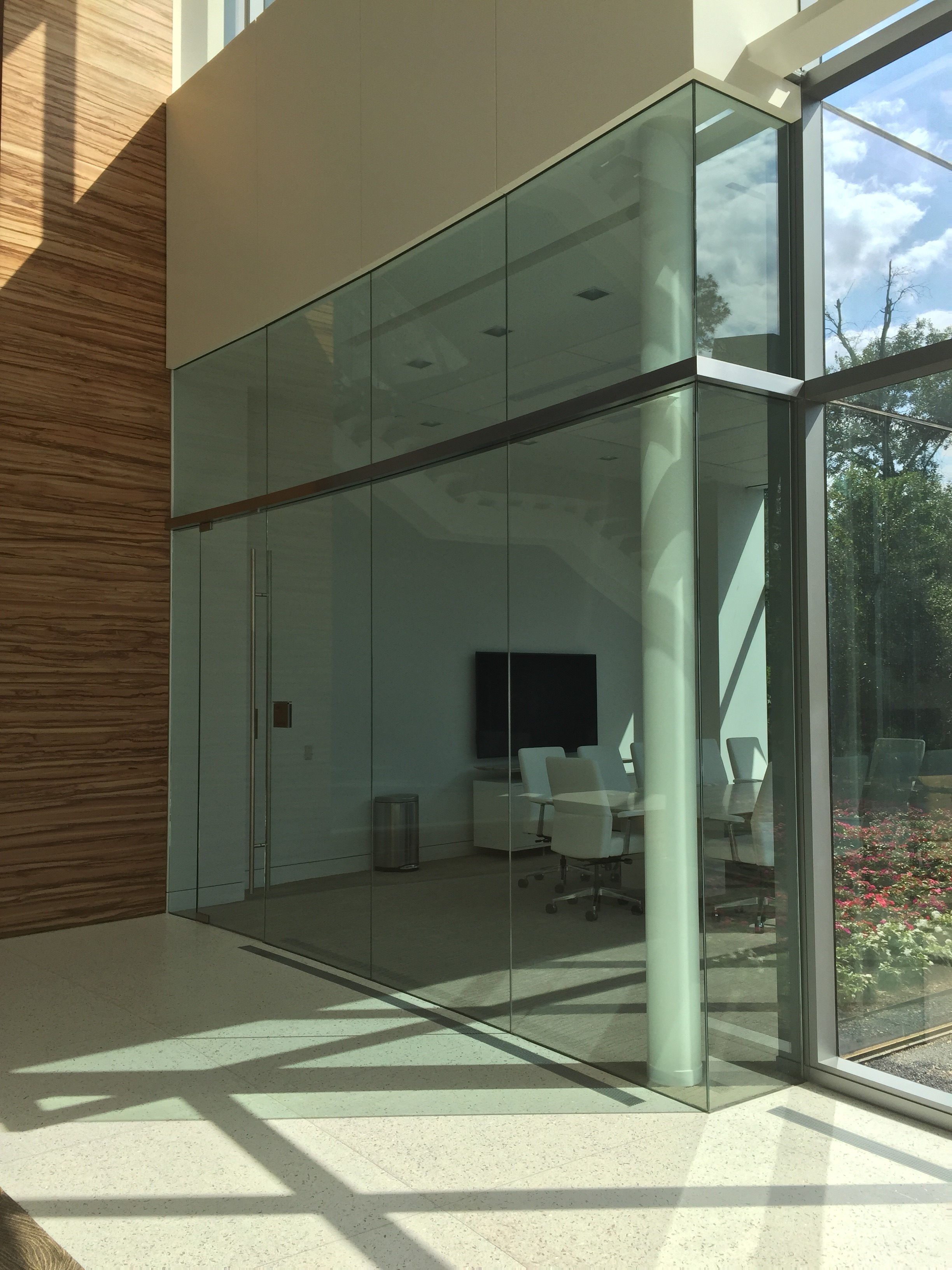 Southwest energy Glass wall door systems